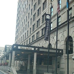 Photo taken at Hotel duPont by Brian T on 9/27/2013