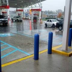 Photo taken at Wawa by Eric L. on 10/29/2012