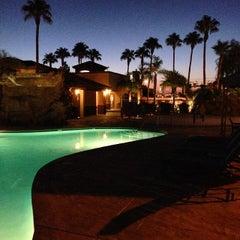Photo taken at Desert Paradise Resort by Errol R. on 8/23/2014