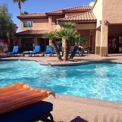 Photo taken at Desert Paradise Resort by Errol R. on 9/4/2014