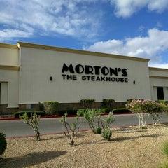 Photo taken at Morton's The Steakhouse by Doug M. on 4/16/2016