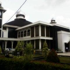 Photo taken at Masjid Agung Purwakarta by Jonni H. on 3/21/2014