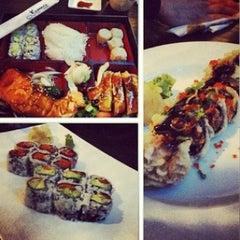 Photo taken at Sushi Nakay by Bruna C. on 12/28/2012