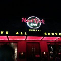 Photo taken at Hard Rock Café Mumbai by Manyata G. on 4/6/2013