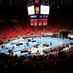 Photo taken at Jon M. Huntsman Center by Jeremy W. on 2/10/2013