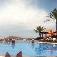 Photo taken at Pueblo Bonito Sunset Beach Resort & Spa by Jenny P. on 5/18/2013