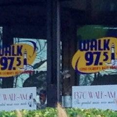 Photo taken at WALK Radio by Rich K. on 11/8/2013