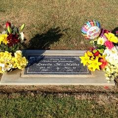 Photo taken at Clovis Cemetary by Brittney P. on 10/17/2012