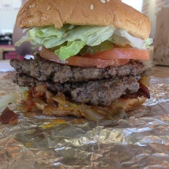 Photo taken at Five Guys by Justin B. on 3/20/2014