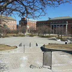 Photo taken at Hornbake Plaza by DC Dining A. on 3/9/2014
