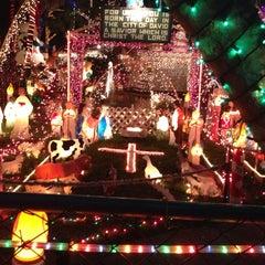 Photo taken at Christmas Light Display (christmasdisplay.org) by Adam C. on 12/22/2013