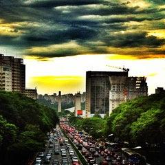 Photo taken at Avenida Vinte e Três de Maio by Vitor M. on 12/7/2012