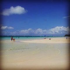 Photo taken at White Beach by Als B. on 11/21/2012