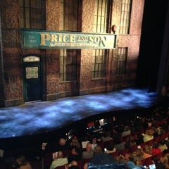 Photo taken at Kinky Boots at the Al Hirschfeld Theatre by Maria E. on 5/7/2013