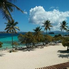 Photo taken at Sapphire Beach Marina & Resort Saint Thomas (Virgin Islands U.S.) by Natalie A. on 3/27/2014