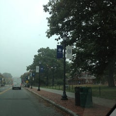Photo taken at UConn Lodewick Visitors Center by Aaron K. on 10/3/2012