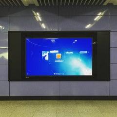 Photo taken at 地铁中关村站 Subway Zhongguancun by Julien G. on 6/18/2015