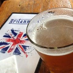 Photo taken at The Britannia Pub by Matt H. on 4/12/2013