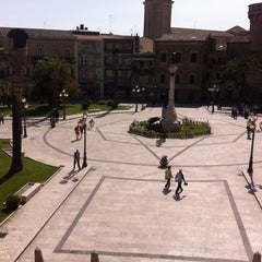 Photo taken at Piazza Rossetti by Anita K. on 5/3/2013