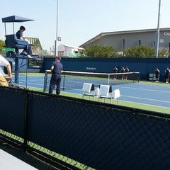 Photo taken at Court 12 - USTA Billie Jean King National Tennis Center by Jessica on 8/20/2013