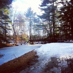 Photo taken at Mine Falls Park by Miriam W. on 3/22/2014