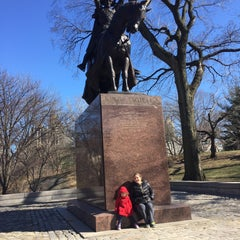 Photo taken at King Jagiello / Poland Monument by Daniel C. on 3/29/2015