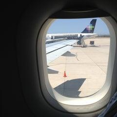 Photo taken at Aeropuerto Manuel Márquez de León (LAP) by Der Schlechte H. on 6/3/2013