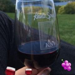 Photo taken at Keuka Spring Vineyards by Kelly K. on 9/20/2015