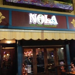 Photo taken at NOLA on the Square by Lucas X. on 10/28/2012