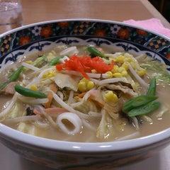 Photo taken at とくとく 阿賀野川SA店 by mhs_secretariat on 1/12/2013