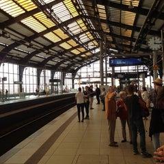 Photo taken at Bahnhof Berlin Friedrichstraße by Jonathan C. on 9/17/2012