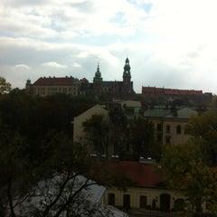 Photo taken at Radisson Blu Hotel Kraków by Apo B. on 10/13/2012