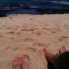 Photo taken at Kukio Beach @ Four Seasons by Jamie A. on 5/30/2013