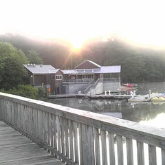 Photo taken at Lake Johnson by PJ L. on 5/14/2013