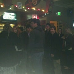 Photo taken at Blue Fin Cafe & Billiards by Luiza C. on 12/21/2012