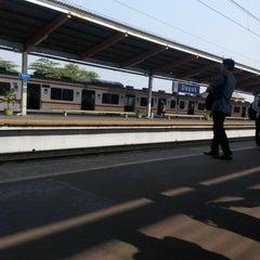 Photo taken at Stasiun Depok Lama by Deden F. on 10/12/2015