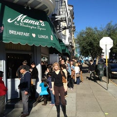 Photo taken at Mama's on Washington Square by Steve F. on 11/23/2012