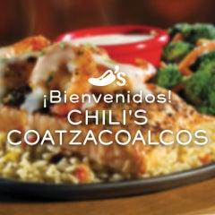 Photo taken at Chili's Coatzacoalcos by CHILIS MEXICO on 1/11/2014