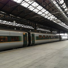 Photo taken at Dublin Connolly Railway Station by Bryan B. on 3/18/2013