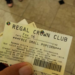 Photo taken at Regal Cinemas Fox 16 & IMAX by Kris H. on 8/2/2014