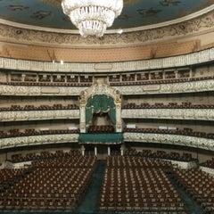 Photo taken at Мариинский театр / Mariinsky Theatre by Maria L. on 7/26/2013