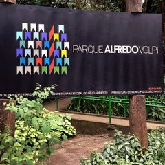 Photo taken at Parque Alfredo Volpi by Paulinha Z. on 8/17/2013