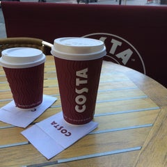 Photo taken at Costa Coffee by jon a. on 9/2/2014