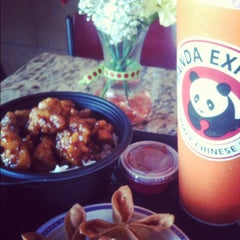 Photo taken at Panda Express by Jexse A. on 10/1/2012