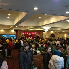 Photo taken at East Harbor Seafood Palace (迎賓大酒樓) by Brian M. on 2/23/2013
