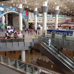 Photo taken at Kuwait International Airport (KWI) by Maha on 11/13/2013