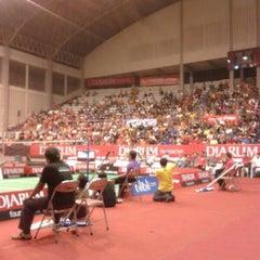 Photo taken at Sritex Arena by Shanty L. on 4/26/2014
