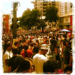 Photo taken at Vila Madalena by Laise G. on 2/3/2013