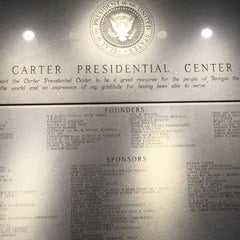 Photo taken at Jimmy Carter Presidential Library & Museum by Juan C V. on 3/13/2015