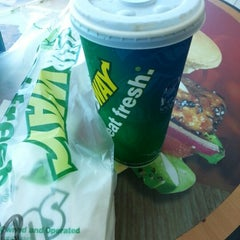 Photo taken at Subway by Michelle G. on 1/8/2013